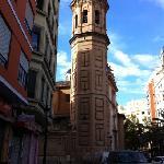 Church near El Mercat