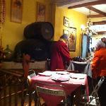 inside El Mercat between front and back