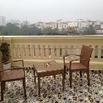 la terrasse au 7 ème étage