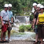 Ziplining at the Falls