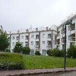 Os apartamentos...