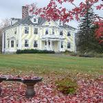 View the spectacular  fall foliage from the Governor's House