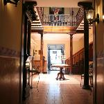 Entrada principal del Hotel San Andrés