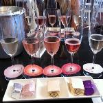 Delicious - sparkling wine and nougat tasting
