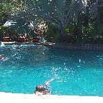 The pool at Harmony