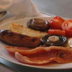 Full English Breakfast prepared to order