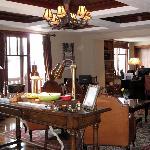 Conciergelevel lounge