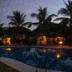 la sera nel resort