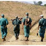 Rangers were out on patrol for poachers