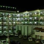 full view of hotel inside hotel by night