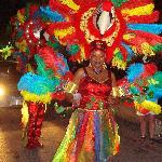 De afsluiting van het carnaval
