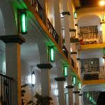 night time at hotel MDC