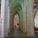 Massive cathedral arches in Brisbane