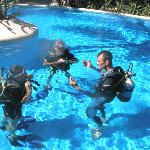 diving lessons, clases de buceo,cours de plongée