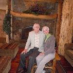 Seniors on honeymoon