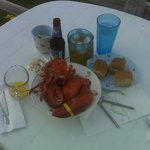 Blueberry Bear and Maine Lobsta! Life is GOOD!