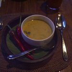 The best greeen mango soup you will ever taste