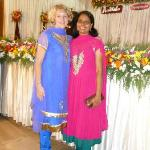 with Uma on the engagement party