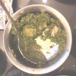 green biryani