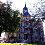 Denton County Courthouse-on-the-Square in early spring. It is just beautiful!
