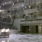 Lobby y habitaciones