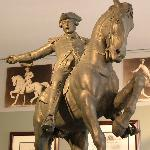 Paul Revere, No. 5, in the Historical Figures gallery at the Cyrus Dallin Art Museum.