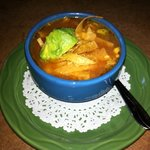 small chicken tortilla soup
