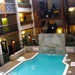 Third Atrium. Indoor pool