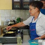 preparing our chorreadas