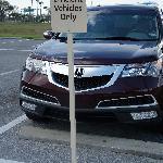 Fuel efficient vehicles can park closer