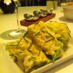 salad iceberg with gorgonzola