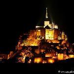 Le Mont Saint-Michel, la nuit