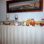 breakfast spread