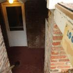 Private entrance to basement room