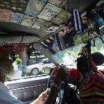 Local taxi driver, gave island history lessons