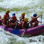 Salmon River paddle rafting