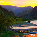 Sunset in Hells Canyon