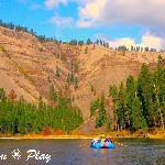 Grande Ronde River rafting