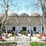 erzincanlı ali baba restoran - wonderful courtyard