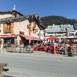 """""""Le Graal"""" with """"Le Jamy"""" restaurant in background"""