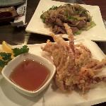 Soft Shell Crab and Sweet Beef Appetizers