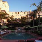 set aside time to enjoy the gardens and the pool!