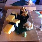Uni [sea urchin] & Tamago - my fav!