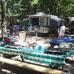 Campsite w/ friends