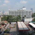 View of Hotel taken from building opposite (Chan Rd)
