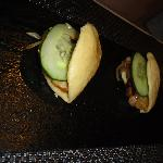 Fourth Course - Momofuku style pork buns