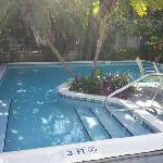 Pool mid afternoon