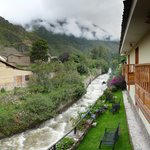 View from hotel in Ollantaytambo