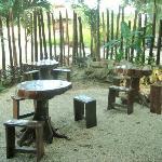 Uolis Nah breakfast area.