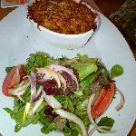 Lobster Mac & Cheese- with salad